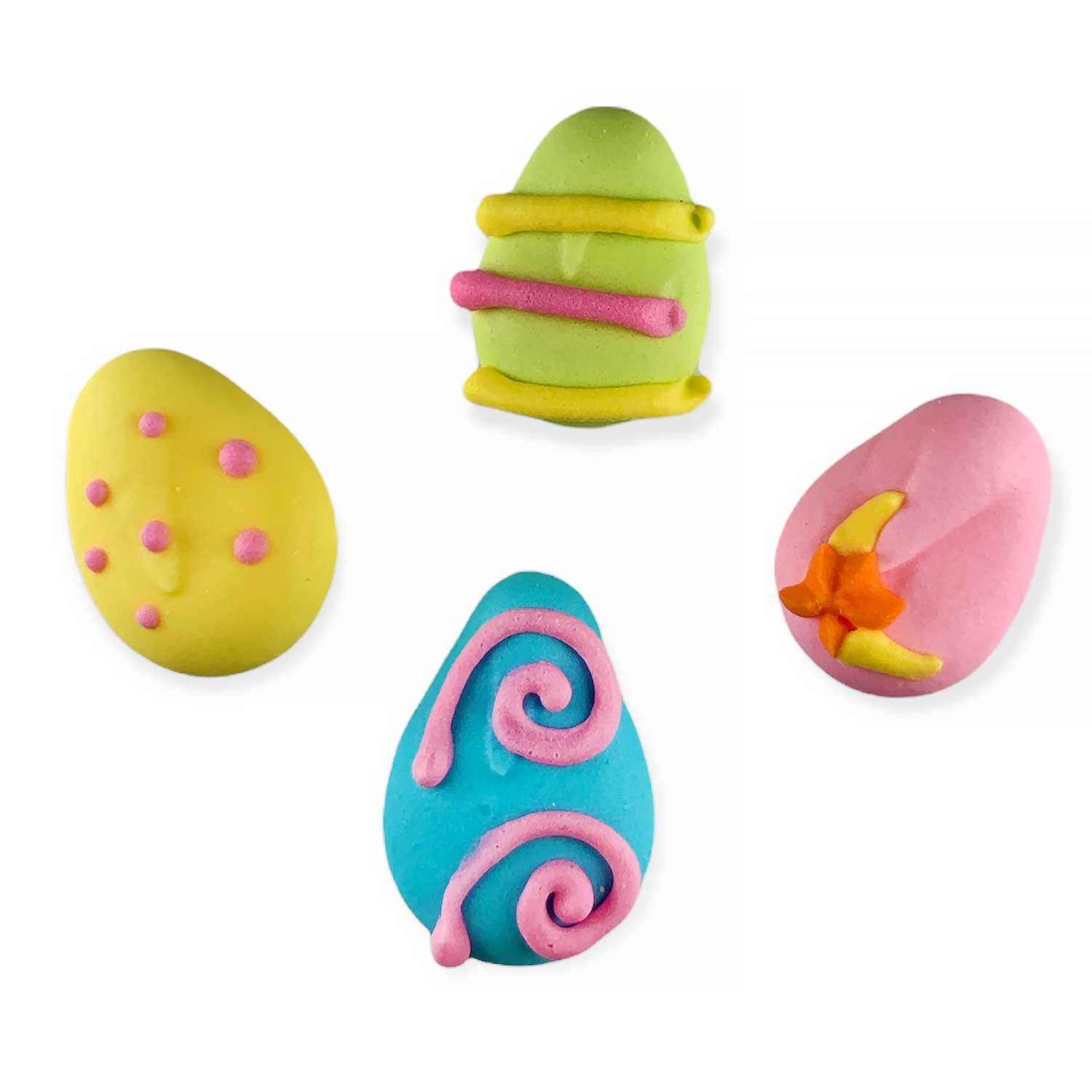 Icing Layons - Tiny Stylized Easter Eggs