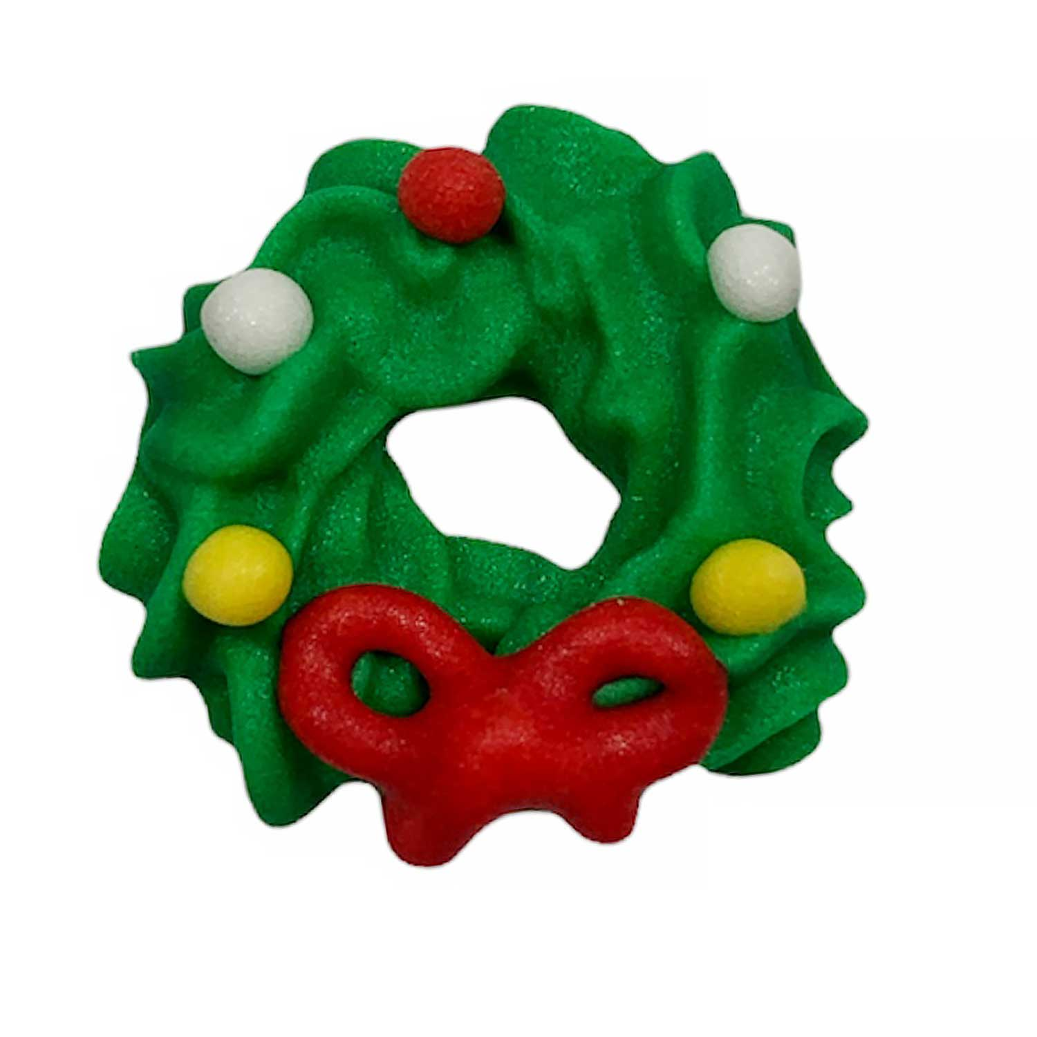 Icing Layons - Mini Wreath with Bow