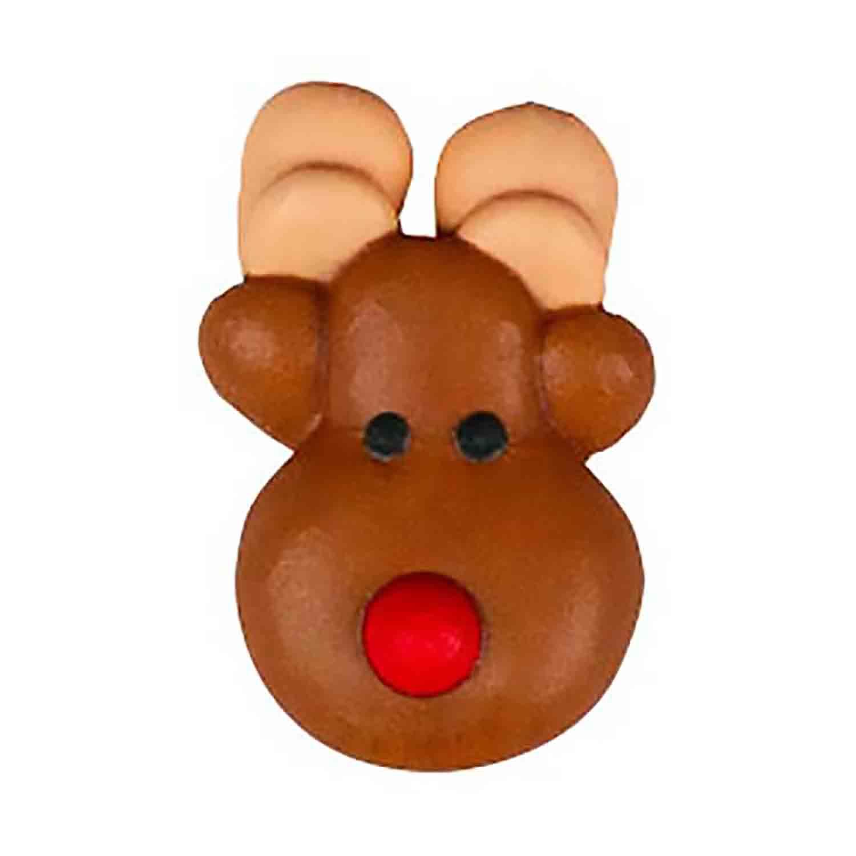 Icing Layons - Reindeer Face