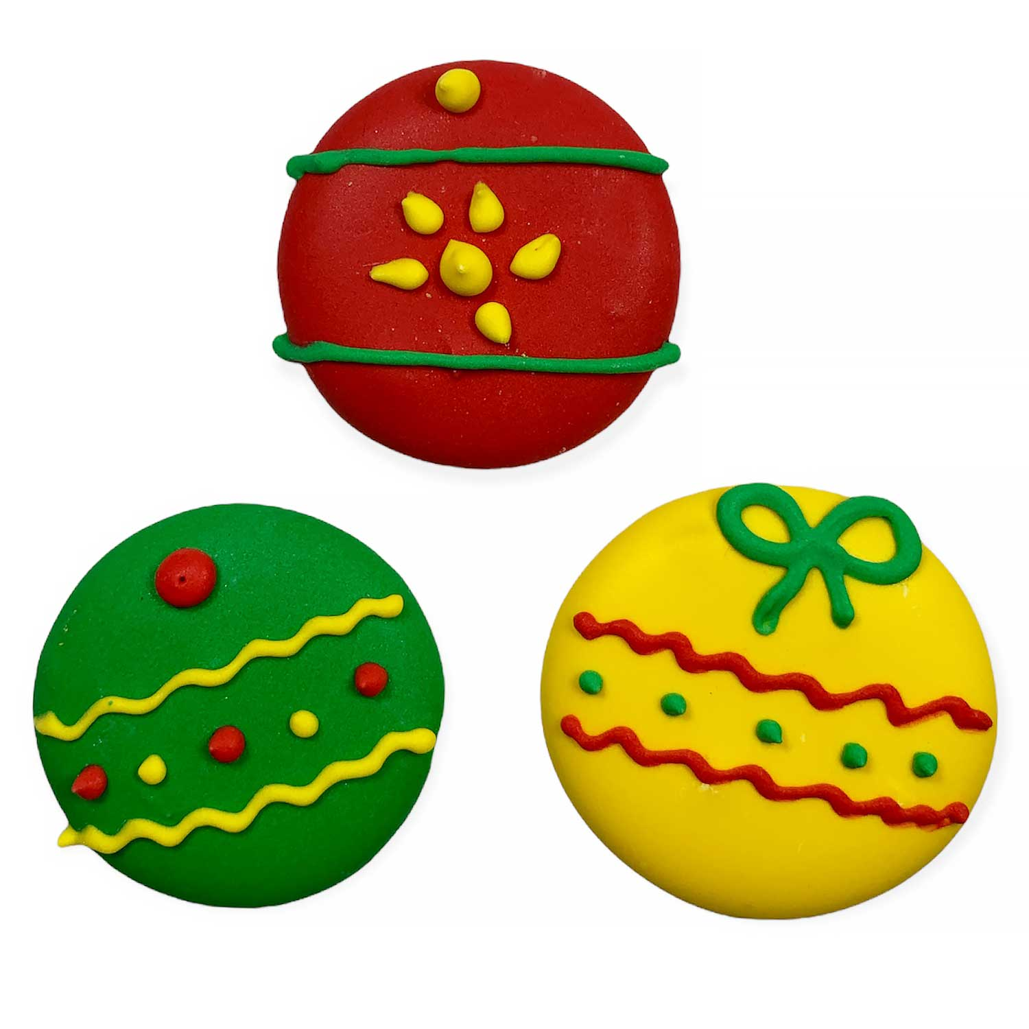 Icing Layons - Large Christmas Ornaments