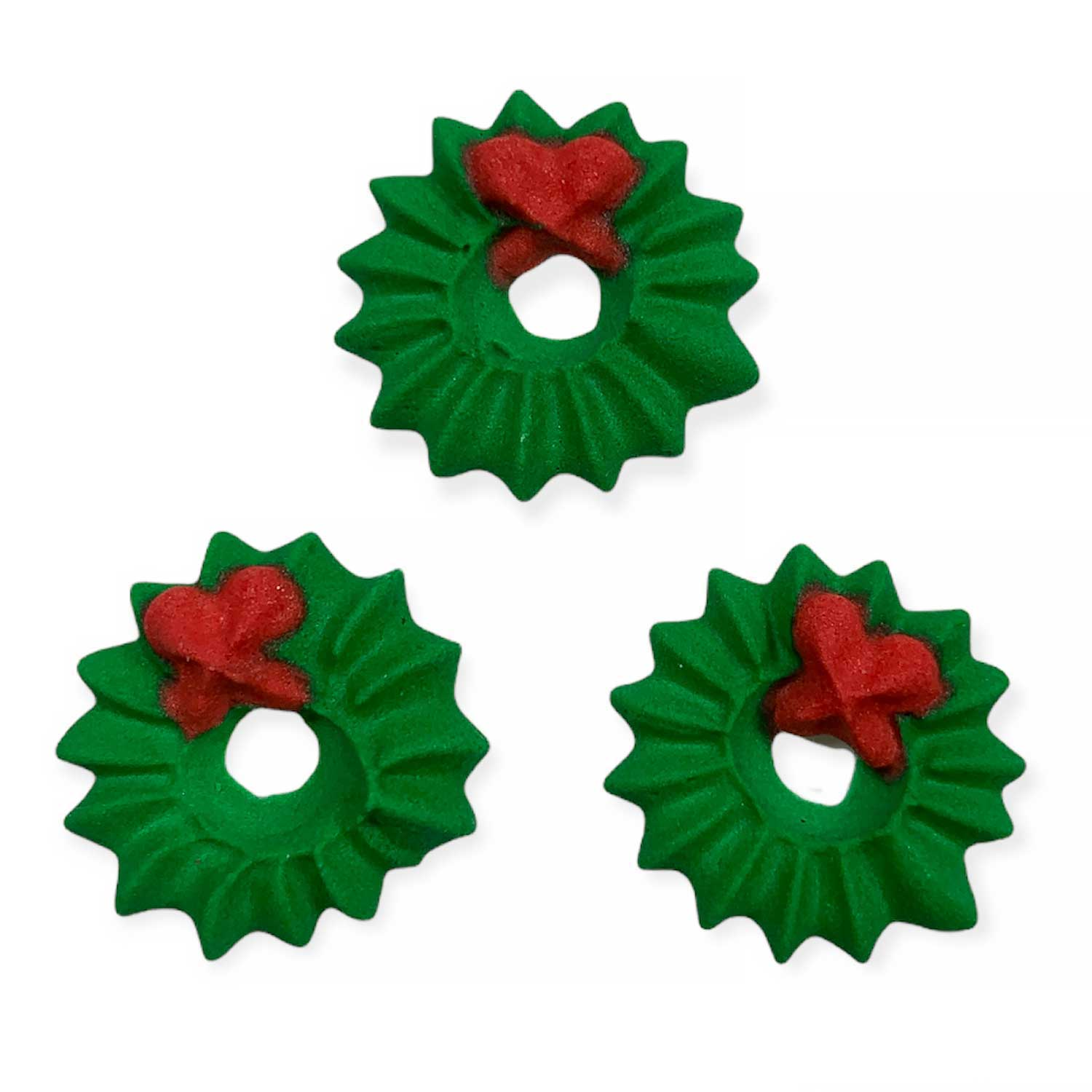 Icing Layons - Tiny Christmas Wreath
