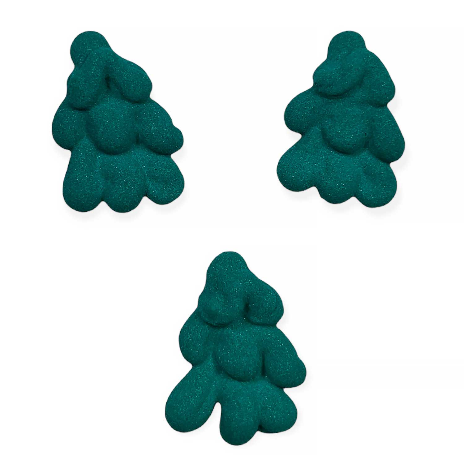 Icing Layons - Tiny Dark Green Trees