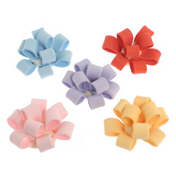 Fondant Cupcake Bows Assorted Colors