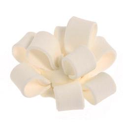 White Fondant Cupcake Bows