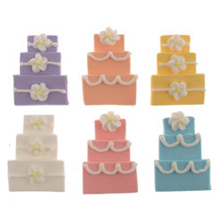 Wedding Cake Fondant Assortment