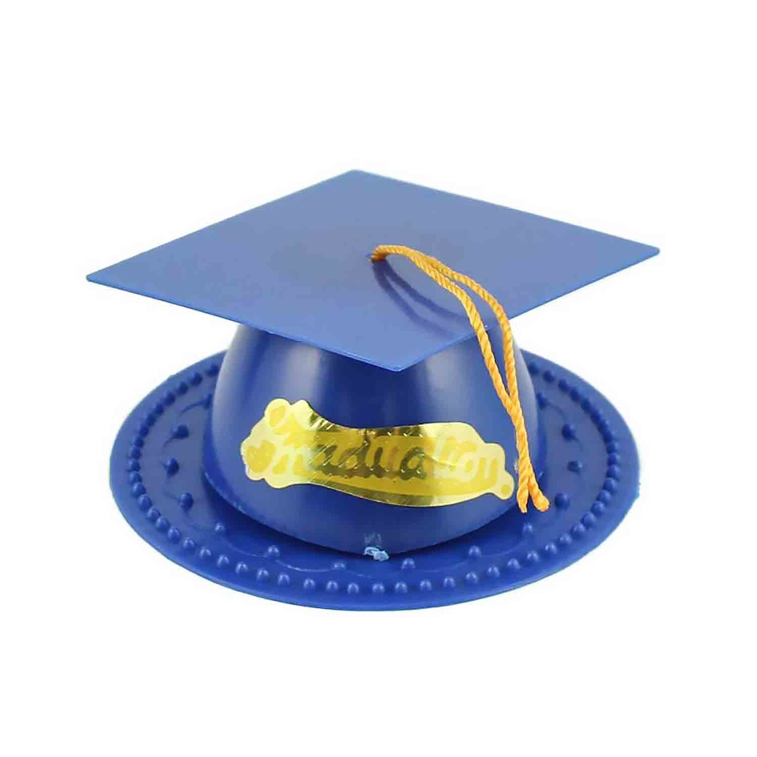 Blue Graduation Cap Topper