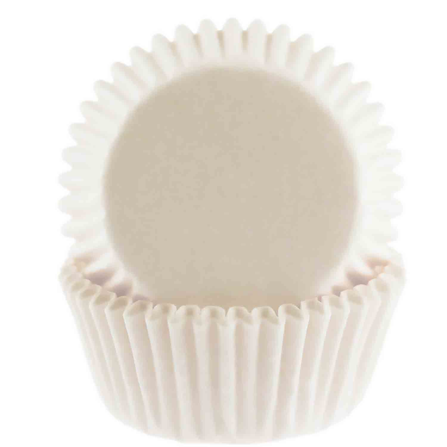 White Mini Baking Cup