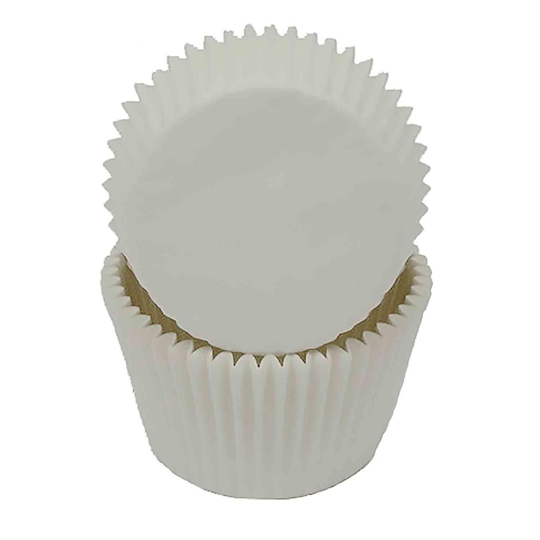 White Jumbo Baking Cup