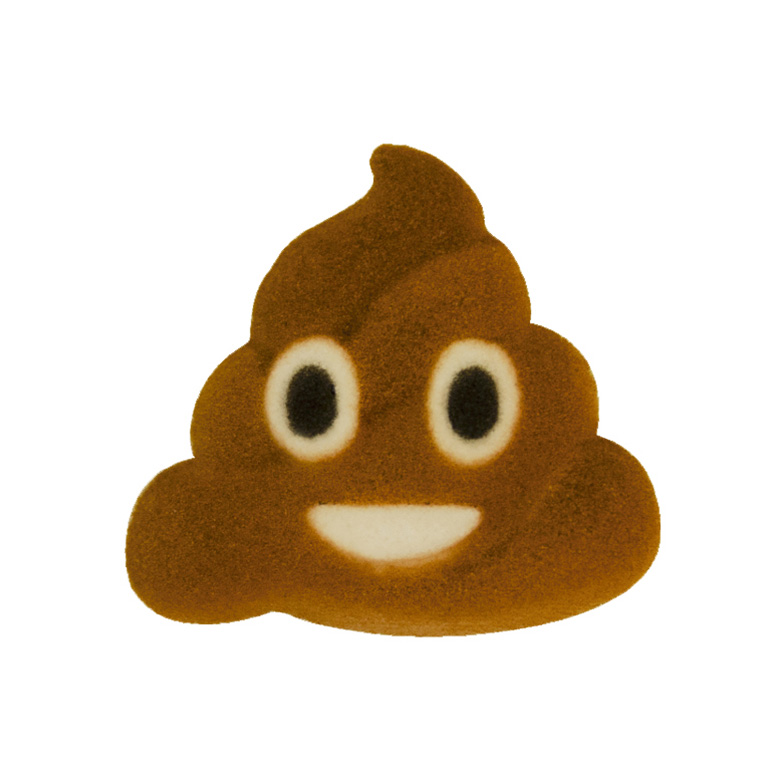 Dec-Ons® Molded Sugar - Emoji Poo