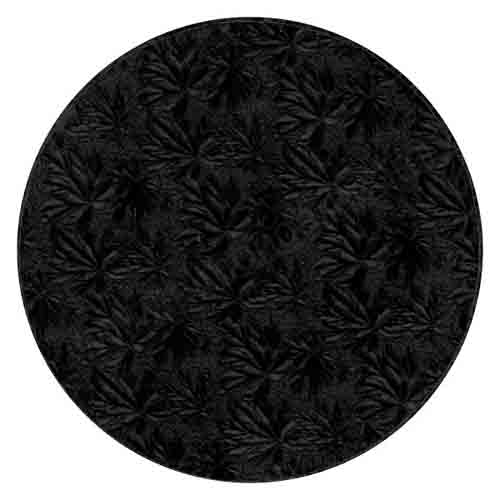 """22"""" Round Black Foil Cake Drum"""