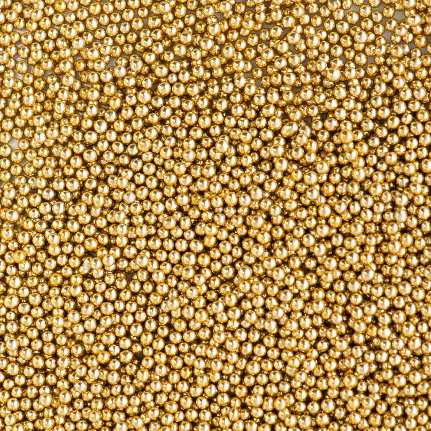 3mm Gold Dragees
