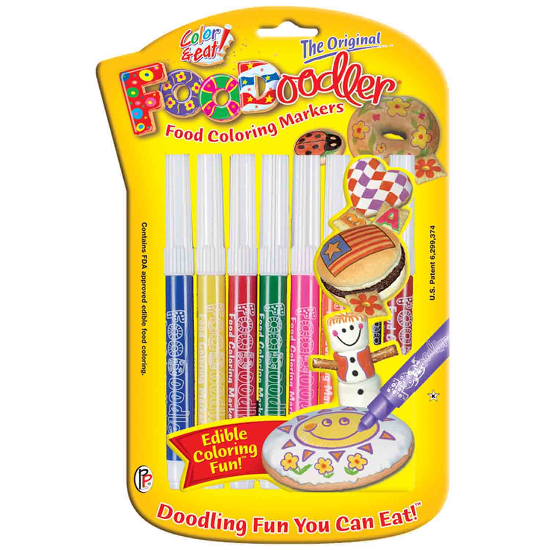 8 Assorted FooDoodler Markers