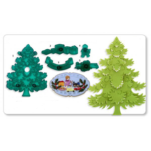 JEM Cutters - Christmas Tree w/Extras