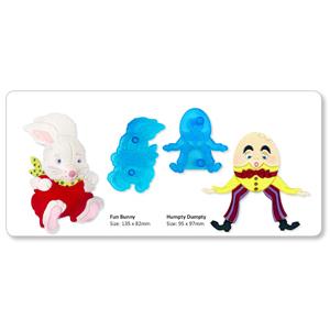 JEM Cutters - Humpty Dumpty & Funny Bunny