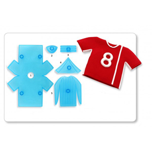 Soccer Shirt Cutter Set
