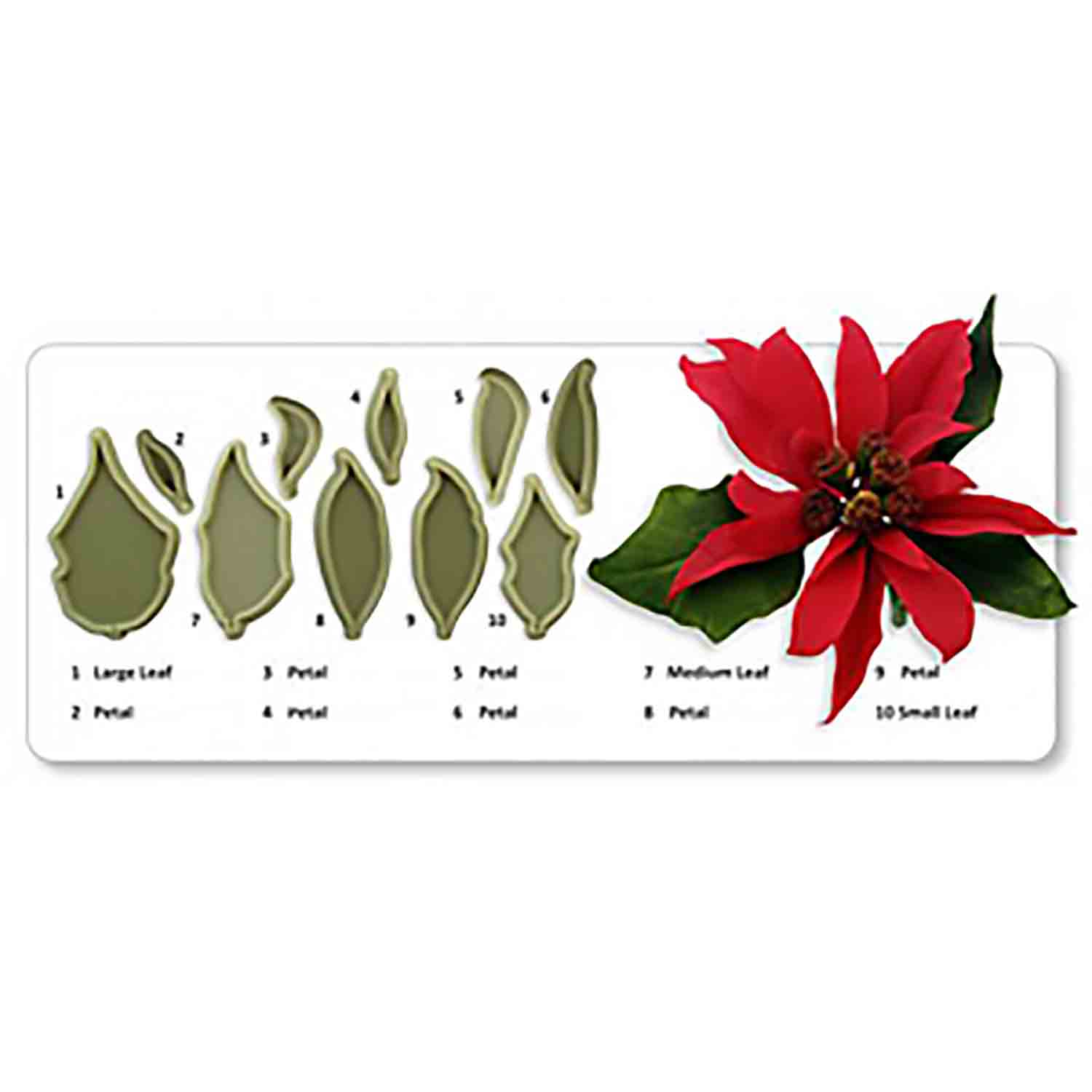 JEM Cutters - Poinsettia