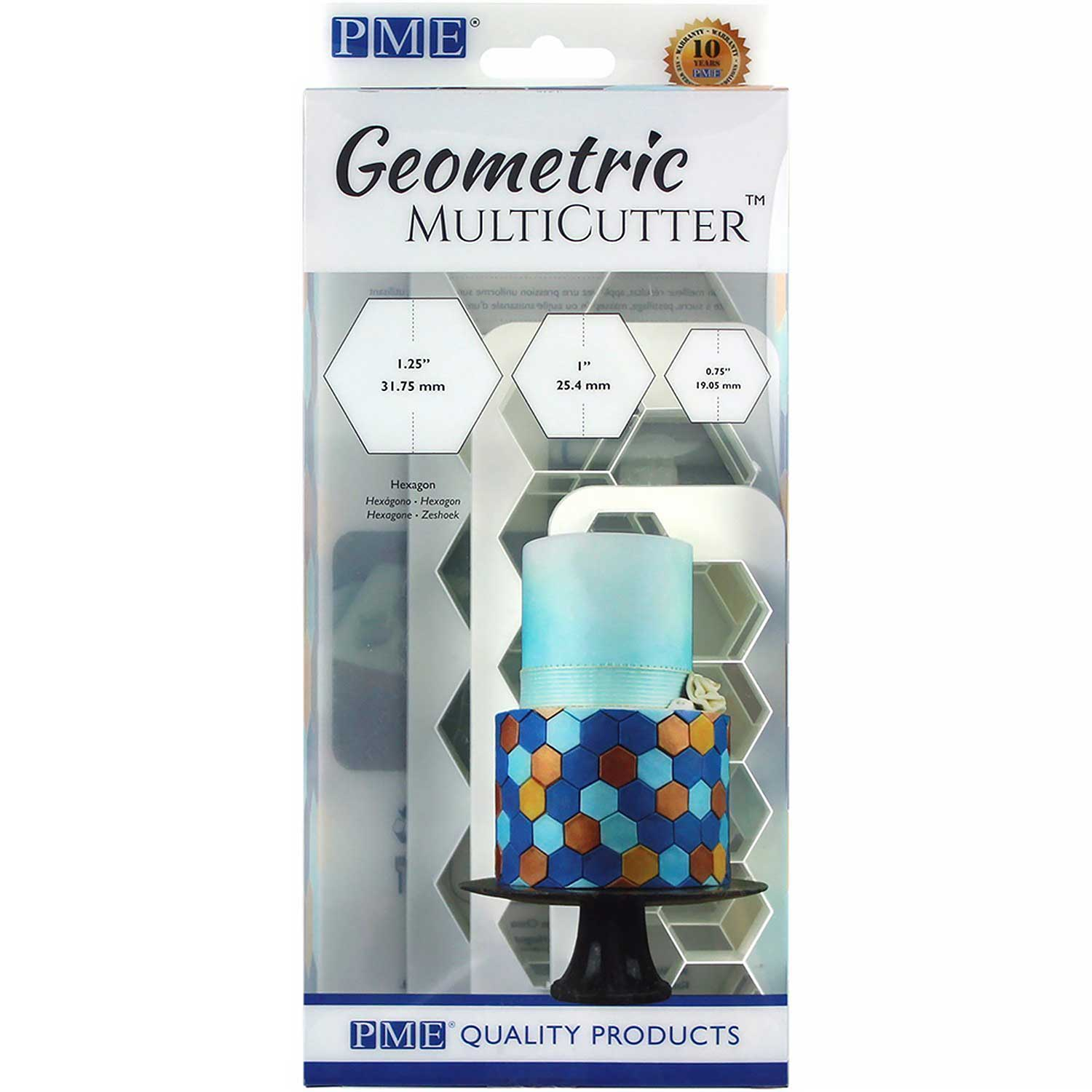 Hexagon Geometric Multicutter™ Set