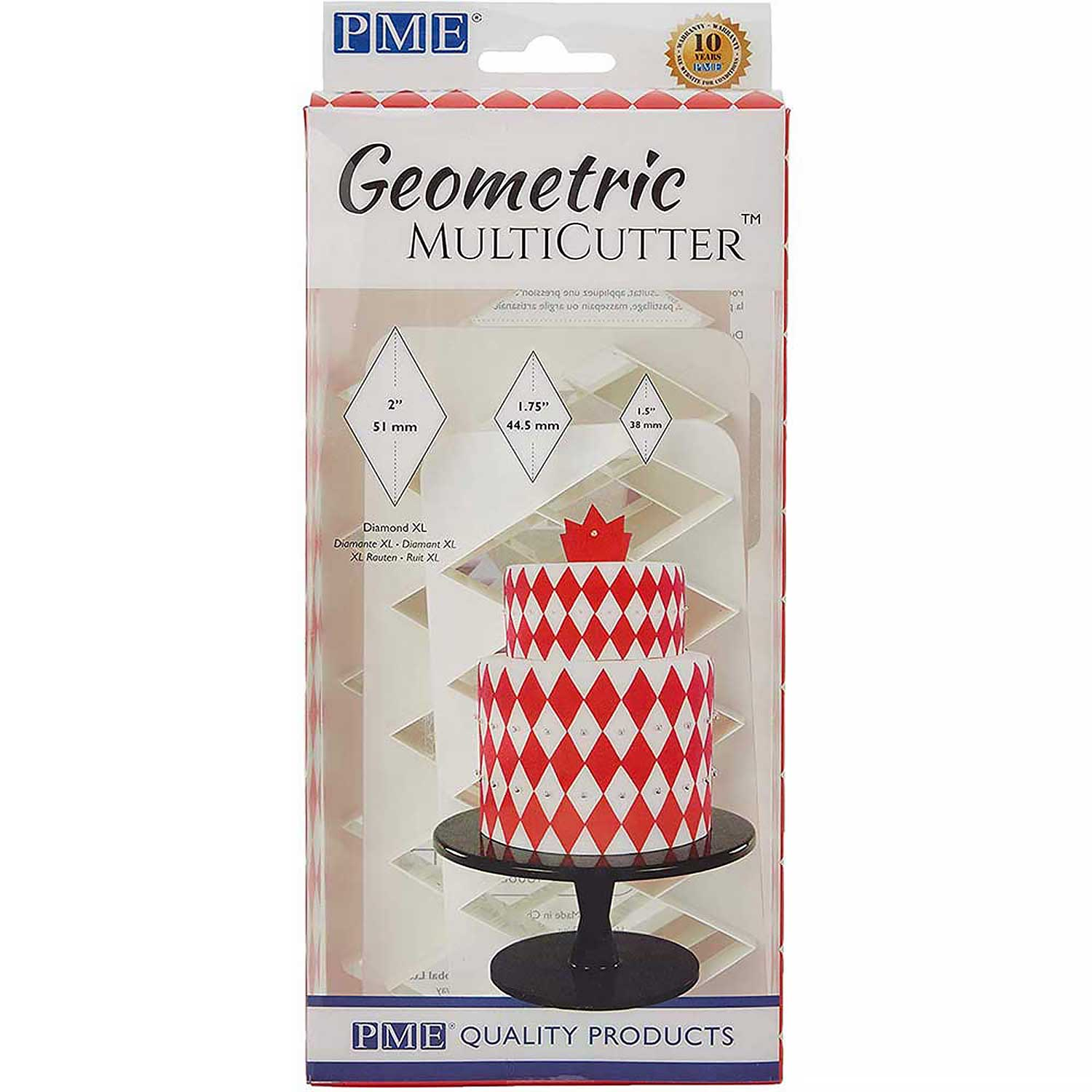 Diamond XL Geometric Multicutter™ Set