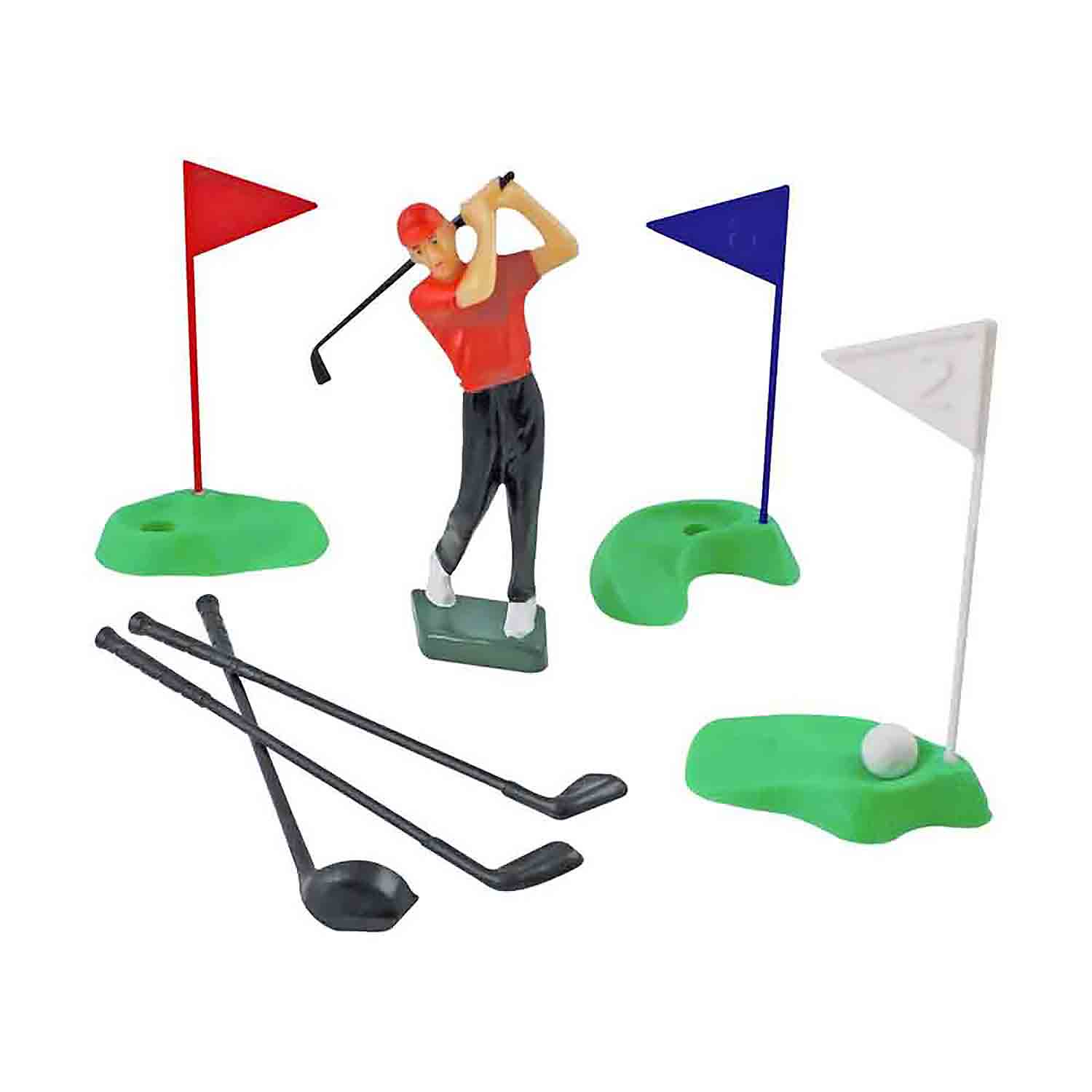 Golf Cake Topper Set