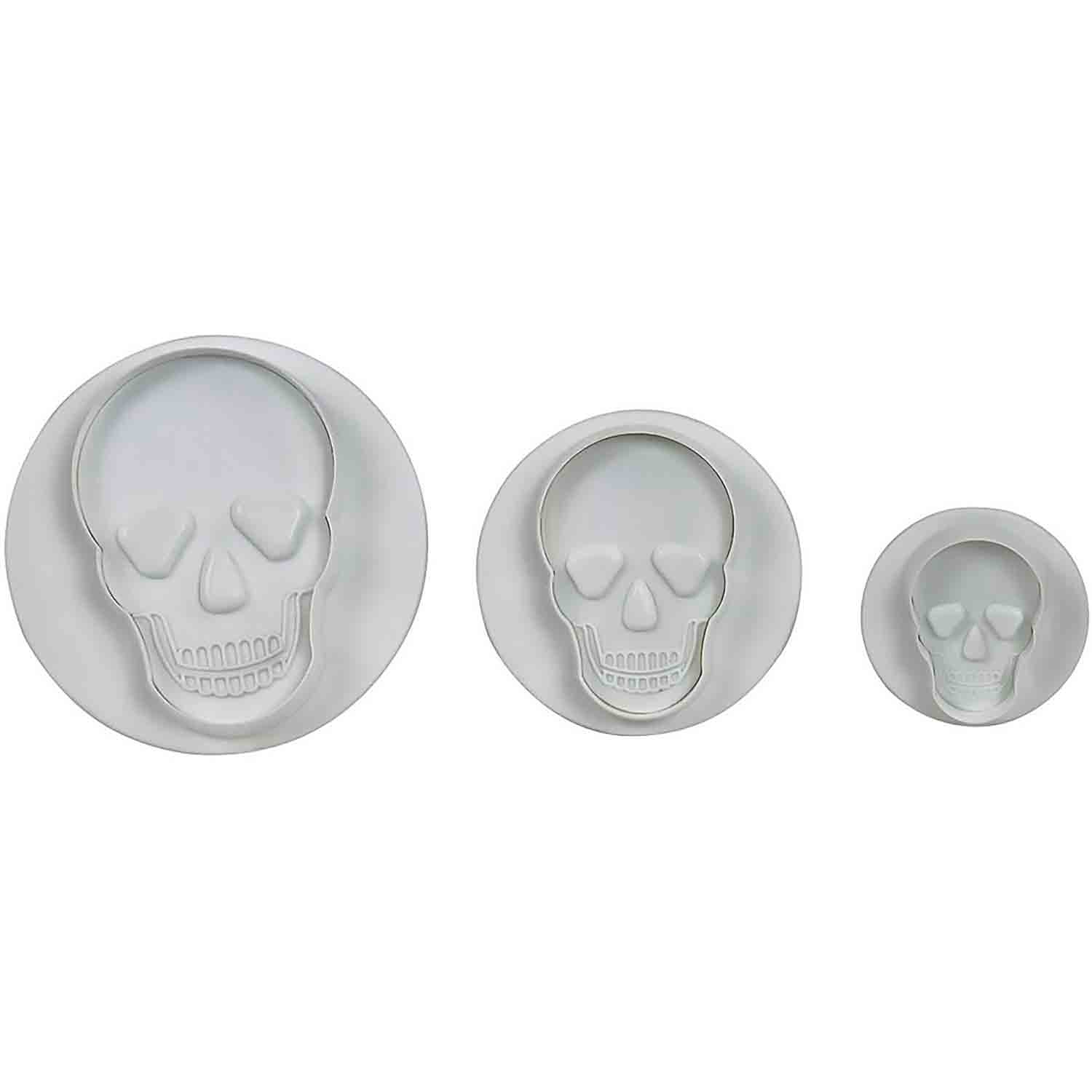 Skull Plunger Cutters Set