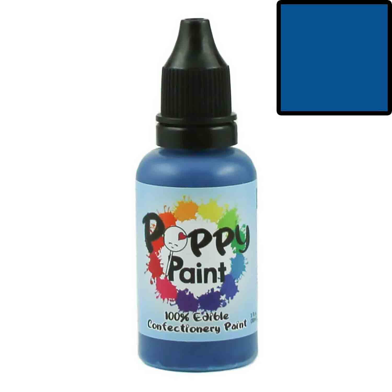 Blue 100% Edible Confectionery Paint