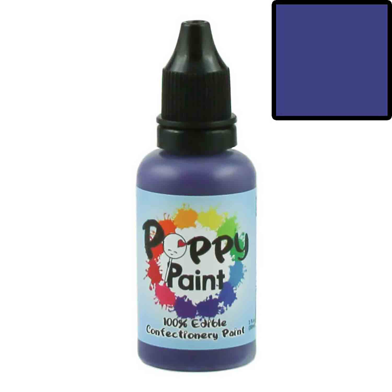 Purple 100% Edible Confectionery Paint