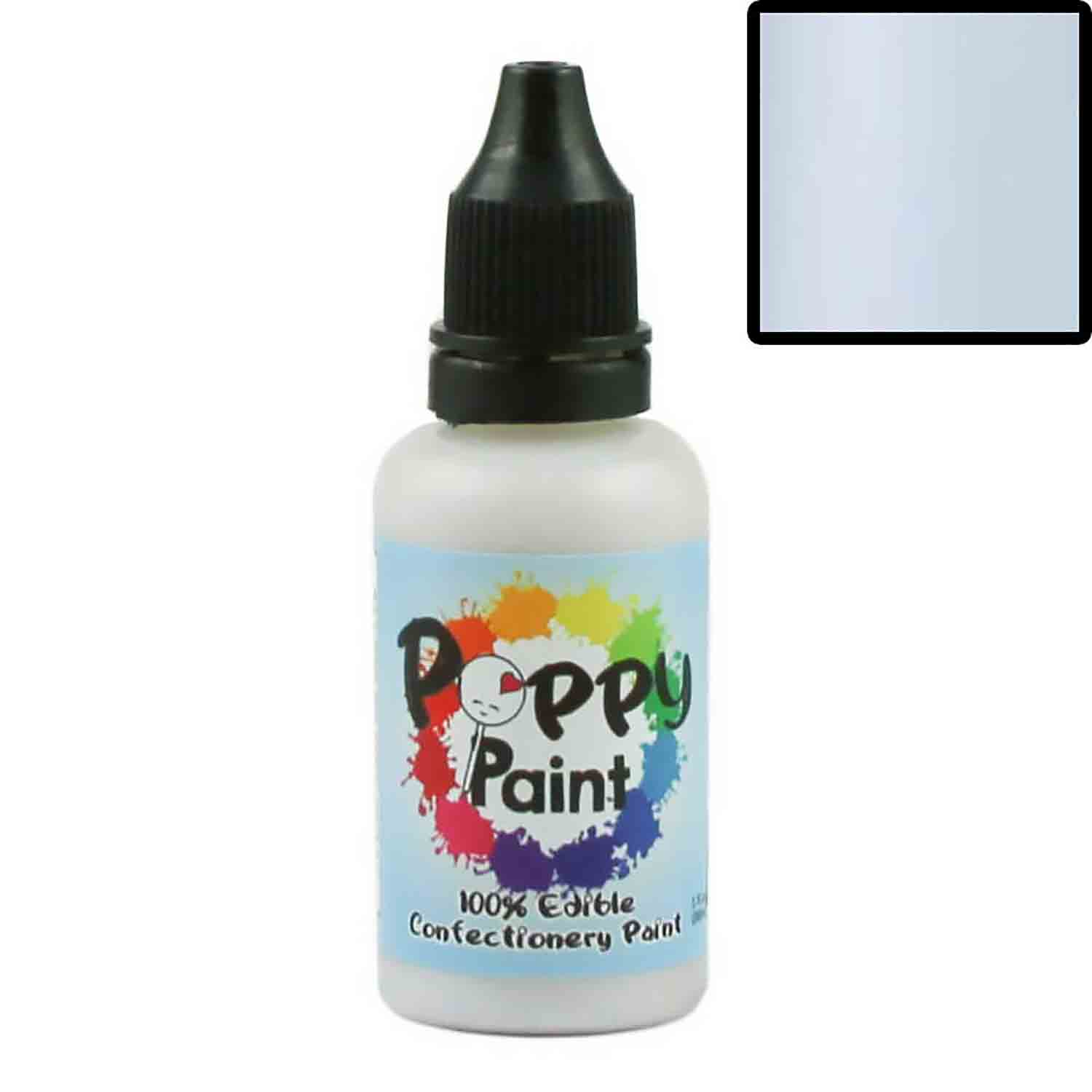 Unicorn Elixer Pearlescent Poppy Paint 100% Edible Confectionery Paint