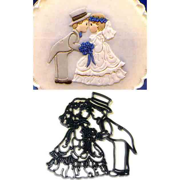 Bride and Groom Patchwork Cutter