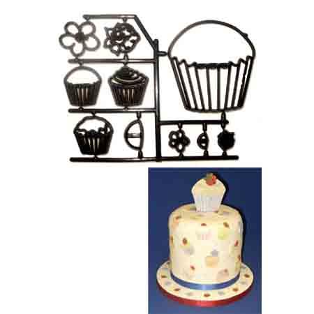 Cupcake Patchwork Cutter Set