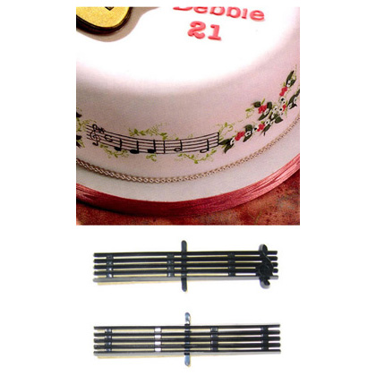 Music Stave and Clef Patchwork Cutter Set