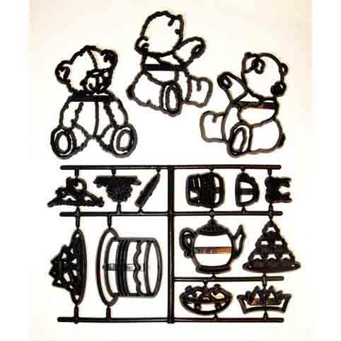 Teddy Bear Picnic Patchwork Cutter Set