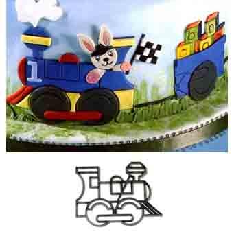 Train Engine Patchwork Cutter