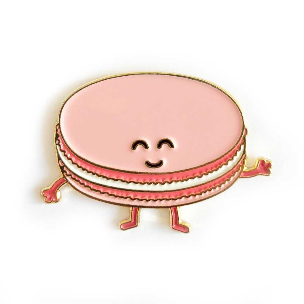 Pink Macaron Enamel Pin