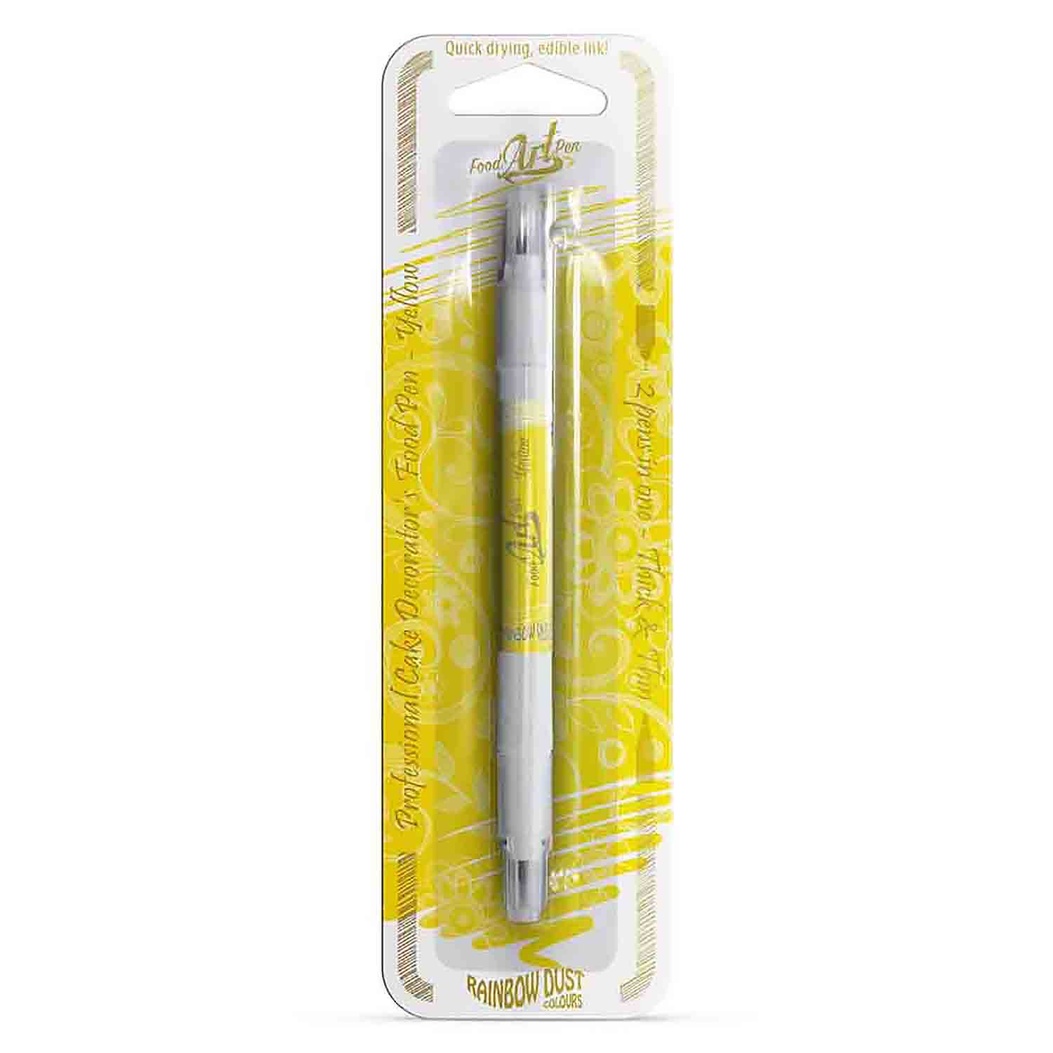 Yellow Food Art Pen