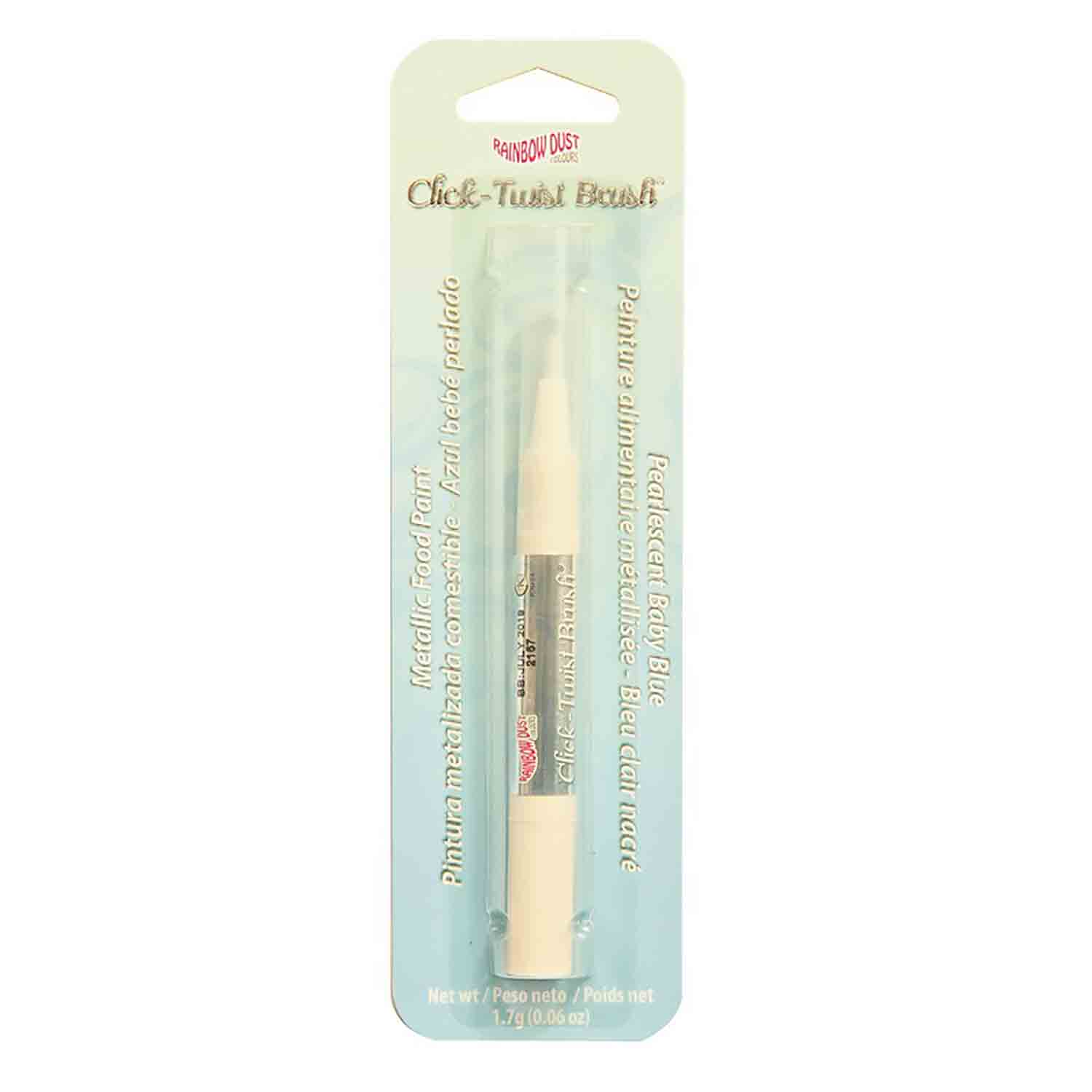 Pearlescent Baby Blue Click-Twist Brush