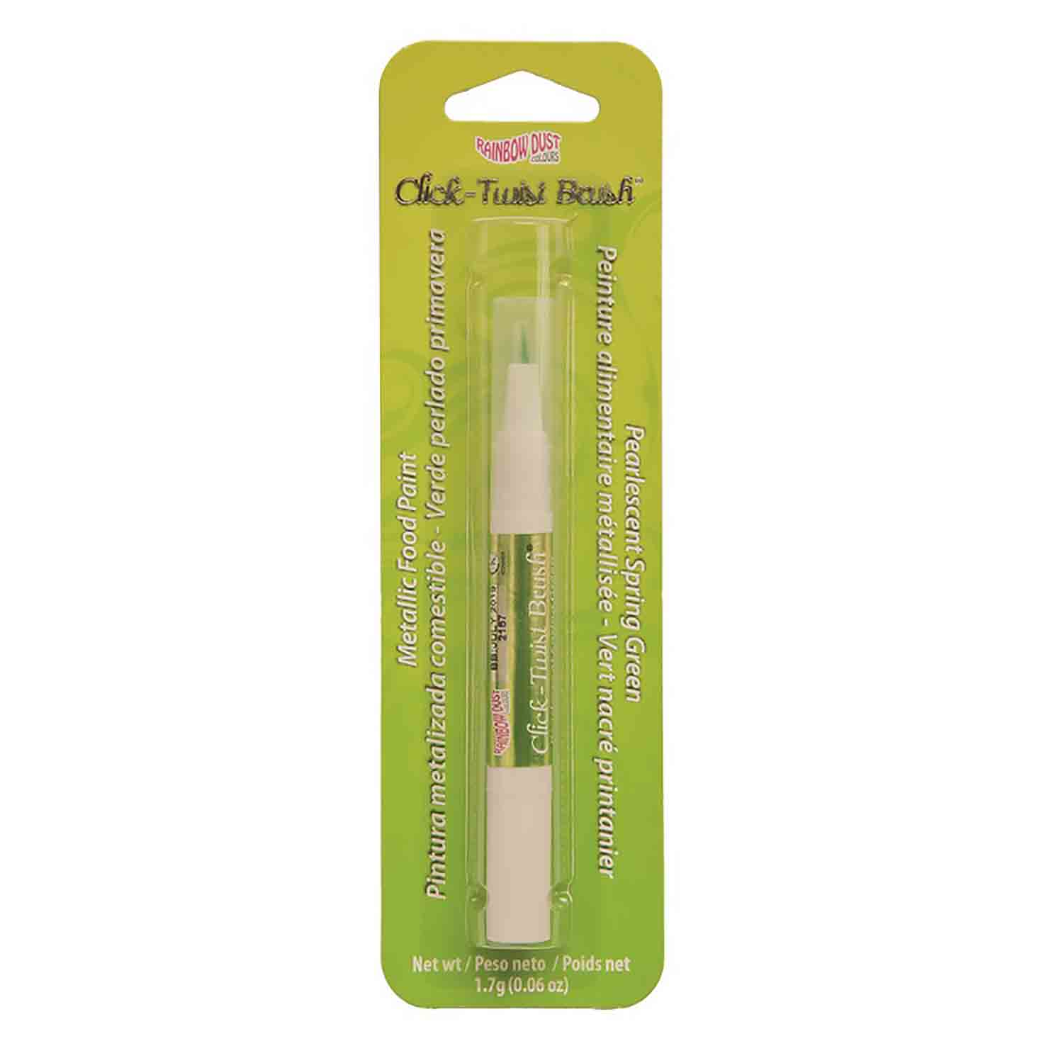 Pearlescent Spring Green Click-Twist Brush