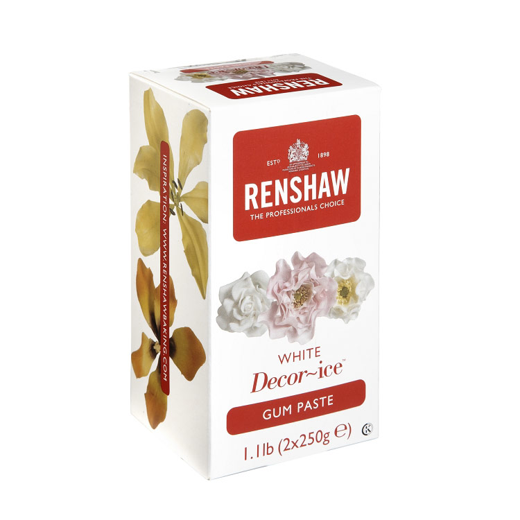 White Renshaw Gum Paste