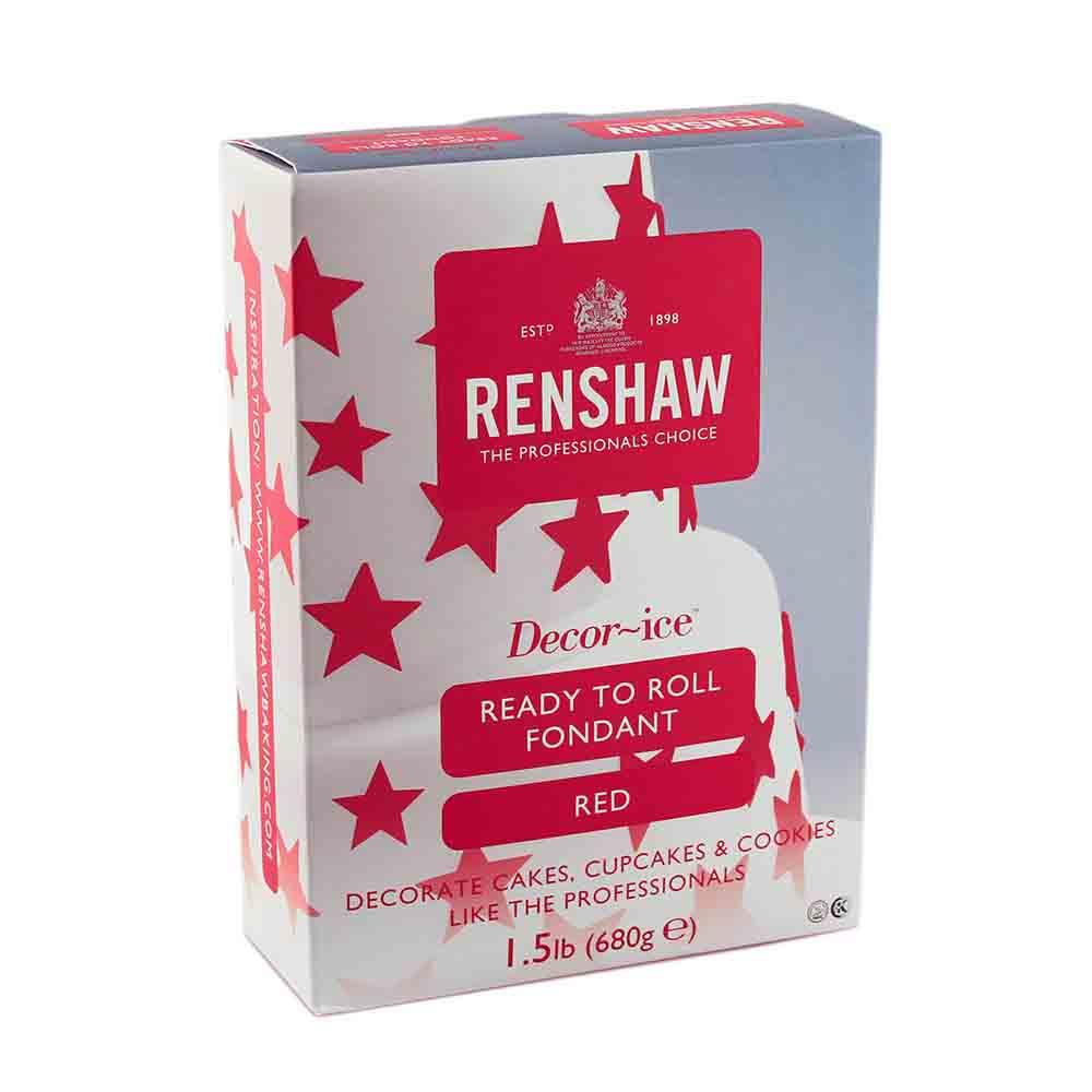 Red Renshaw Rolled Fondant