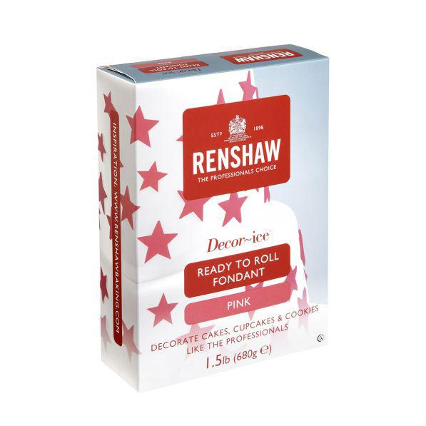 Pink Renshaw Rolled Fondant