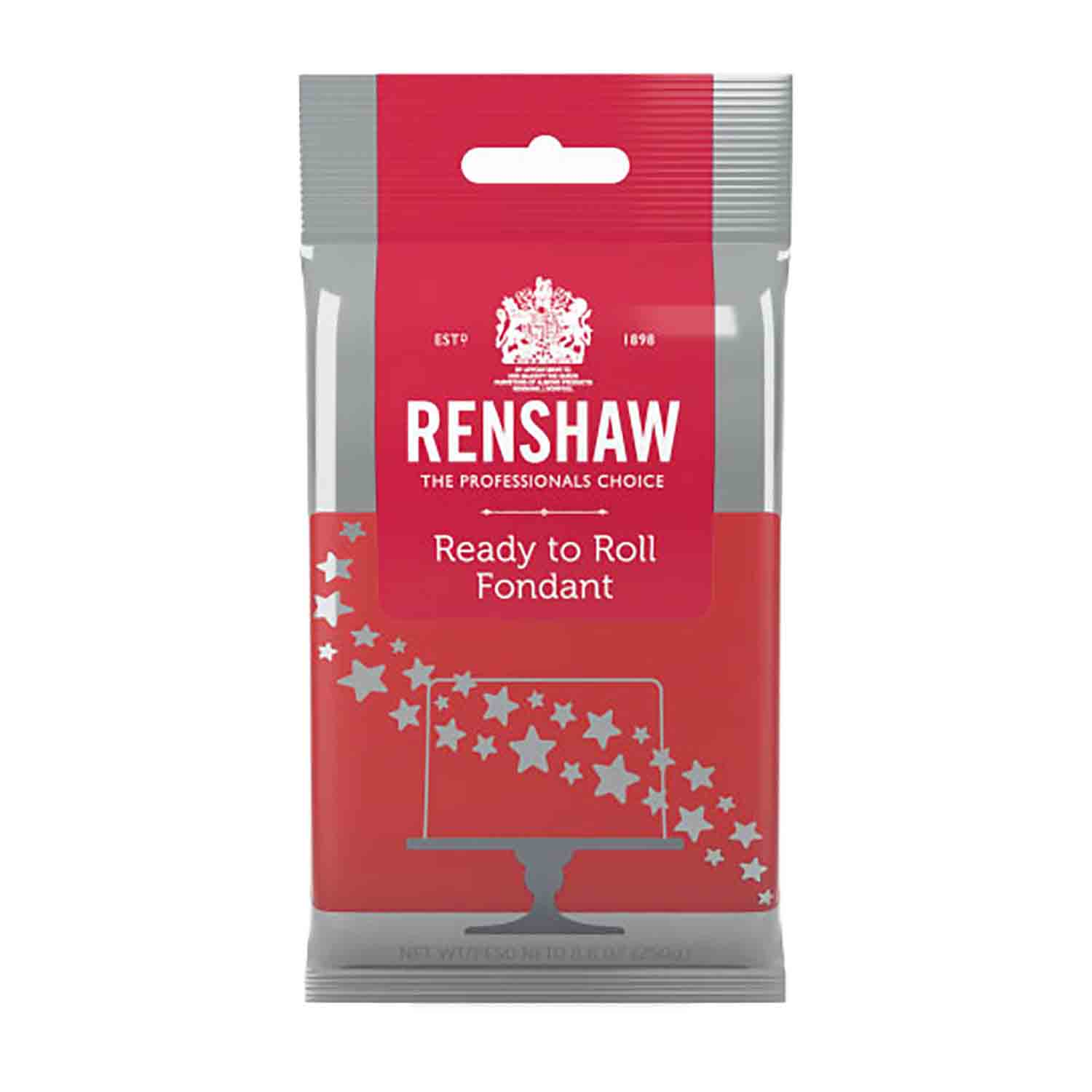 Red Ready to Roll Fondant by Renshaw