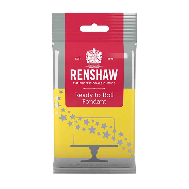 Yellow Ready to Roll Fondant by Renshaw