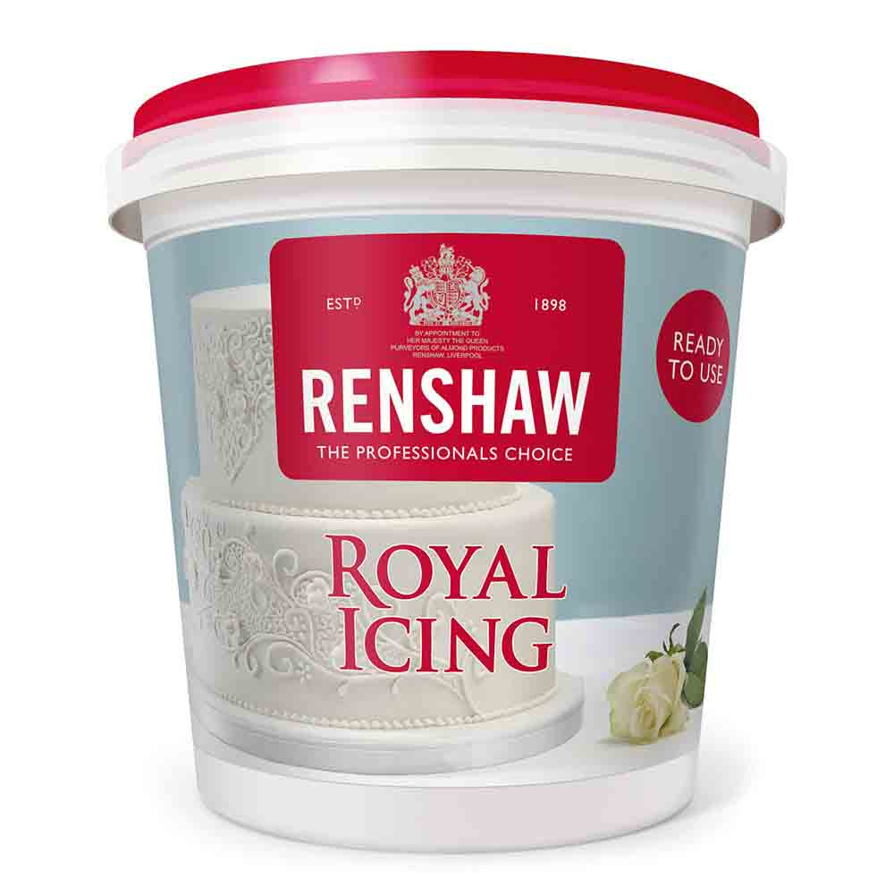 White Ready to Use Royal Icing