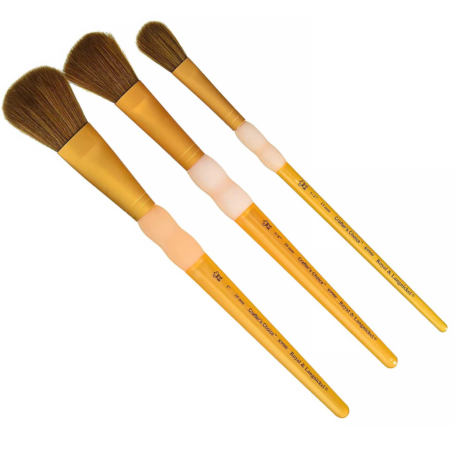 Camel Hair Mop Brush Set