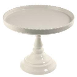 White Round Pedestal Stand