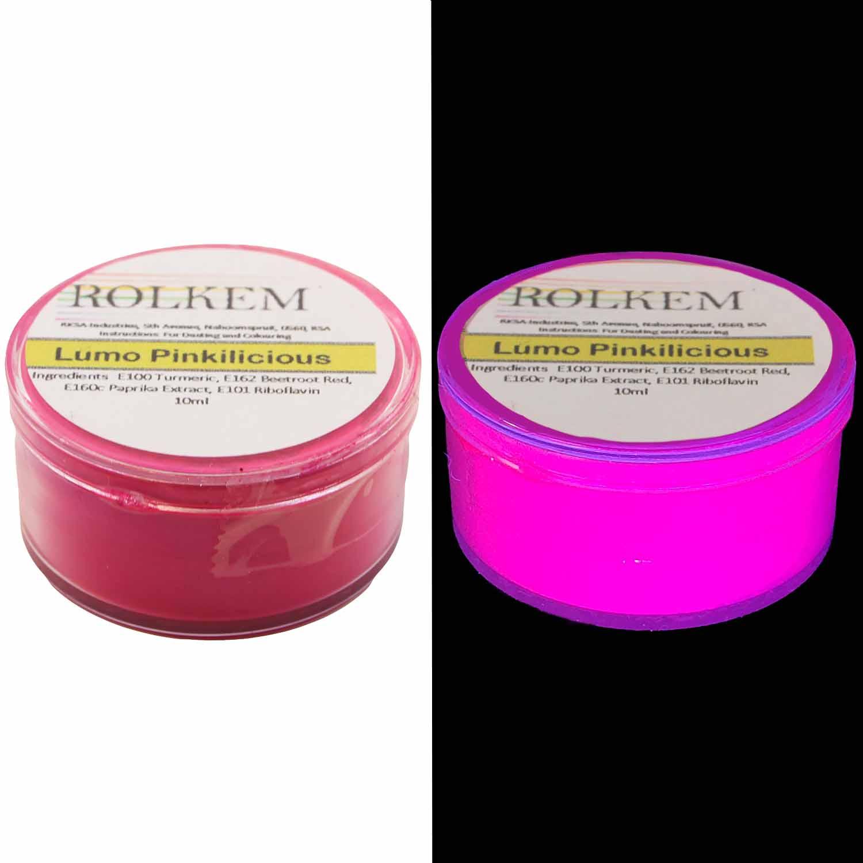 Lumo Pinkelicious UV Powder