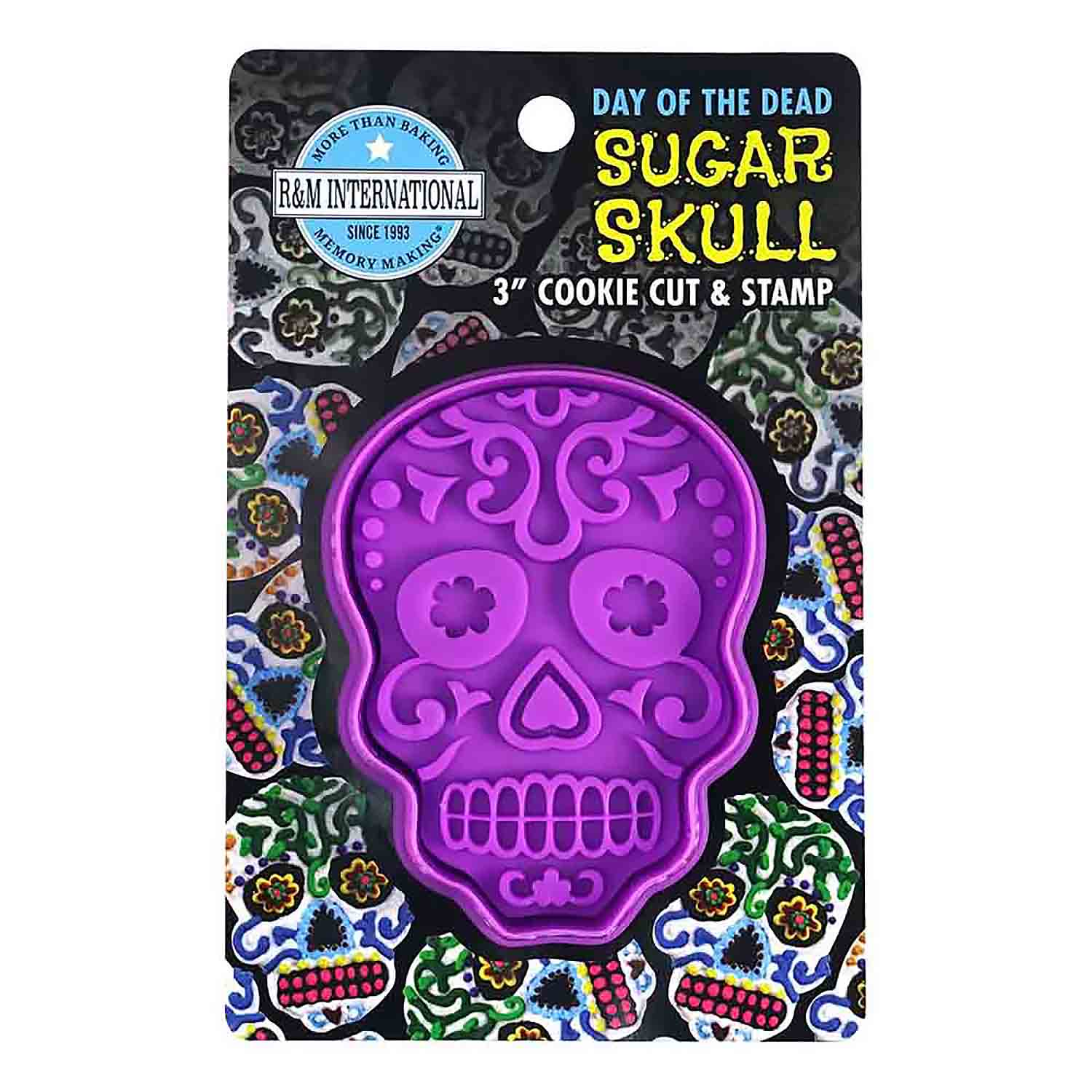Sugar Skull Cookie Stamp Cutter