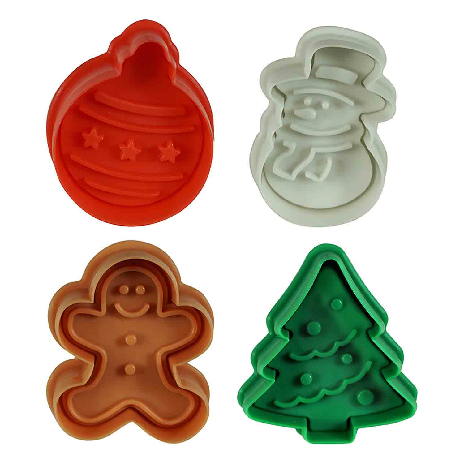 Christmas Cookie Cutter Stamp Set