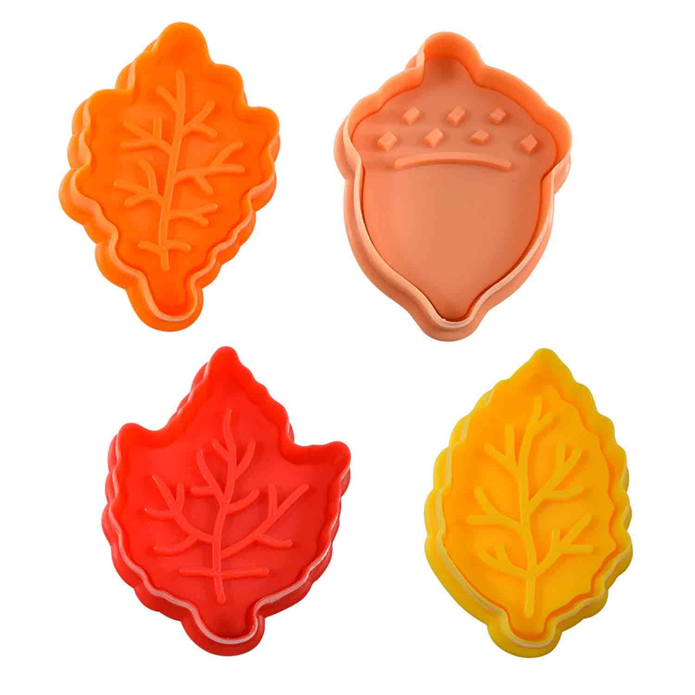Autumn Cookie Cutter Stamp Set