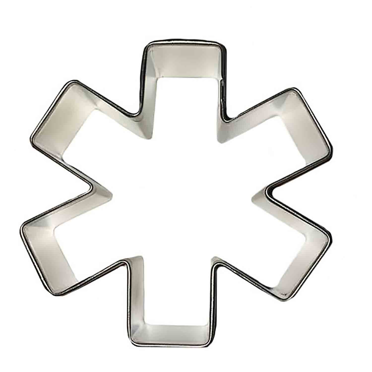 Asterisk/ Medical Symbol Cookie Cutter