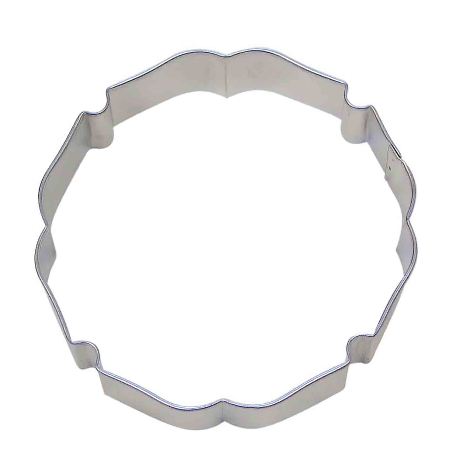 Badge Plaque Cookie Cutter